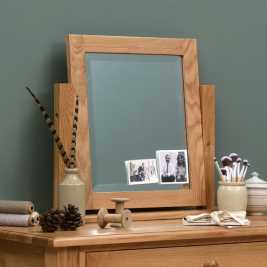 Appleby Oak Dressing Table Mirror