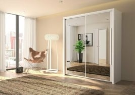 Bergen 2 Door Sliding Wardrobe