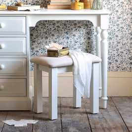 Burford Painted Dressing Table Stool