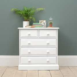 Burford Painted Petite 2 Over 3 Drawer Chest