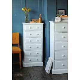 Burford Painted Tall 6 Drawer Chest