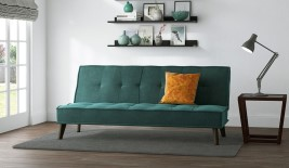Cassia Ocean Upholstered Sofa Bed