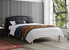 Cassini Faux Leather Bed Frame
