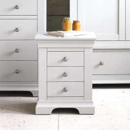 Chambery Grey Painted Bedside