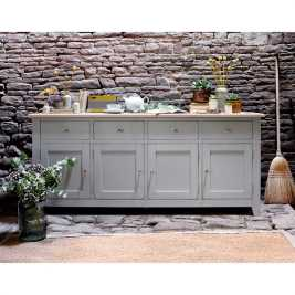 Chester Grey Extra Large Sideboard