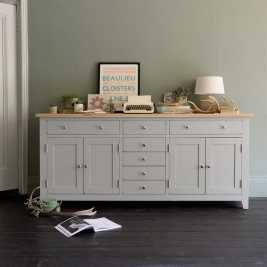 Chester Grey Grand Sideboard
