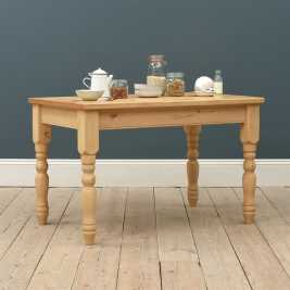 Dorchester Pine 122cm (4ft) Kitchen Table