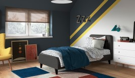 Drew Upholstered Bed Frame