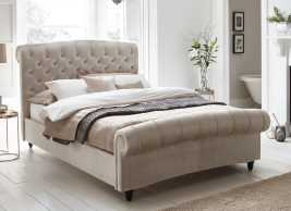 Ellis Velvet Upholstered Bed
