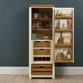 Elmley Cream Narrow Kitchen Larder