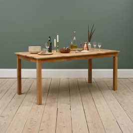 Epsom Oiled Oak 180cm Fixed Top Dining Table