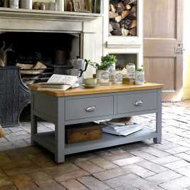 Florence Grey Coffee Table