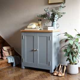 Florence Grey Small Cupboard