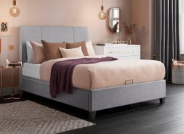 Francis Upholstered Ottoman Bed Frame