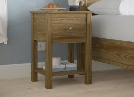 Fulham Bedside Table Oak