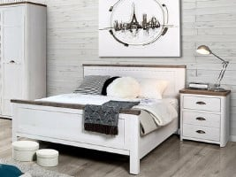 Genoa Wooden Bed Frame