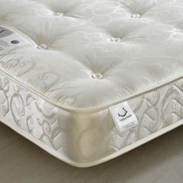 Gold Tufted Orthopaedic Spring Mattress
