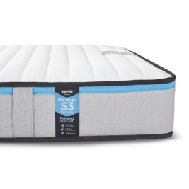 Jay-Be Benchmark S3 Memory Fibre Spring Mattress