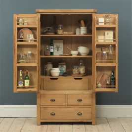 Kingham Oak Double Larder