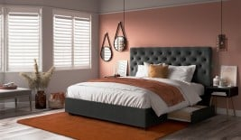 Linio Your Bed Your Way Upholstered Bed Frame