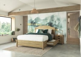 Lyon Wooden Bed Frame