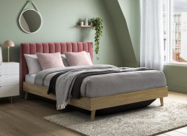 Maisy Upholstered Ottoman Bed Frame