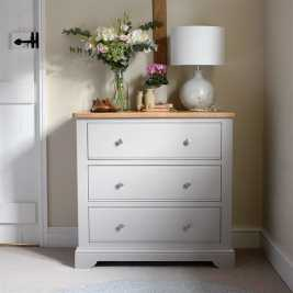 Malvern Mink 3 Drawer Chest