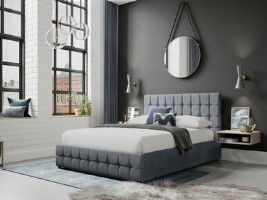 Minsk 4 Drawer Upholstered Bed Frame
