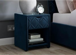 Neva 1 Drawer USB Charging Bedside Table