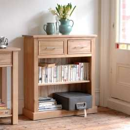 Newark Oak 2 Drawer Storage Unit