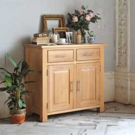 Newark Oak Small Sideboard
