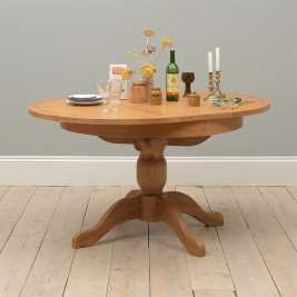 Oakland 110-145cm Round Ext. Table