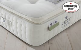 Rest Assured Knowlton 2000 Pocket Latex Pillow Top Mattress