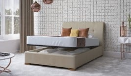 San Diego Ottoman Upholstered Bed Frame
