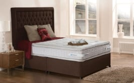 Sealy Coniston Contract Pillow Top Divan Bed Mattress