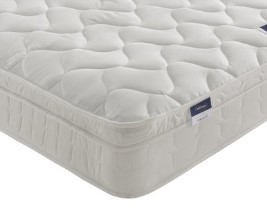 Silentnight Easycare Miracoil Cushion Top Mattress