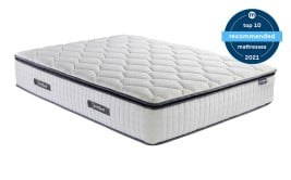 SleepSoul Bliss 800 Pocket Memory Pillow Top Mattress