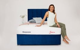 Sleepeezee Beautyrest Boutique Lexington 1800 Pocket Gel Mattress