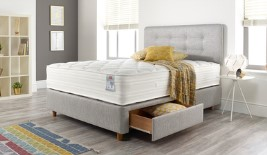 Slumberland Esprit Pocket 800 Divan Bed Set on Legs