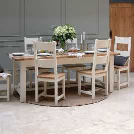 Sussex Painted 180-220-260cm Extending Table