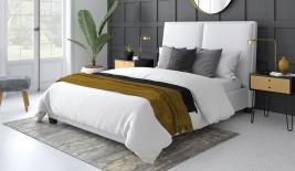 Symmetry Your Bed Your Way Upholstered Bed Frame