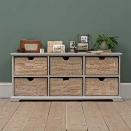 Tetbury Grey 6 Drawer Chest