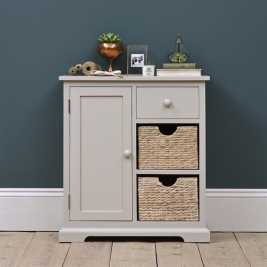 Tetbury Grey Mini Sideboard