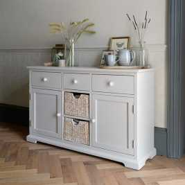 Tetbury Grey Sideboard