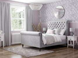 Victoria Upholstered Bed Frame