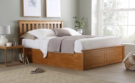 Birlea Phoenix Oak Wooden Bed