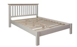Newton Painted Wooden Bed