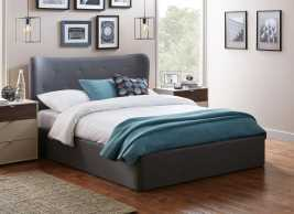 Warne Fabric Ottoman Bed Frame
