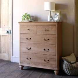 Wickham Washed Oak Chest of Drawers