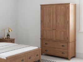 Wild Coast 2 Door Hinged Wardrobe